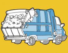 Drôle de guerre sur le front des poubelles