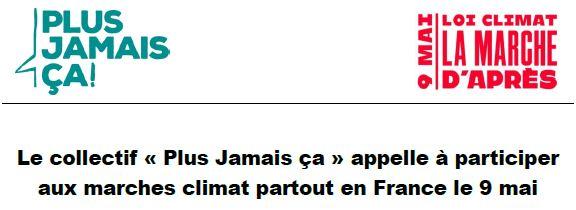 Marches climat partout en France le 9 mai avec la FSU13
